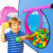 xxl gyermek játszósátor 200db labdával