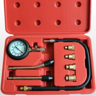 8 részes kompressziómérő készlet