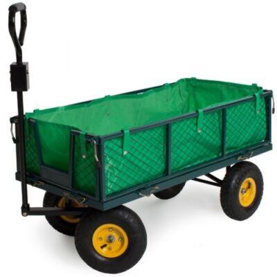 nagy teherbírású kézikocsi és szállítókocsi kertikocsi traktorozható
