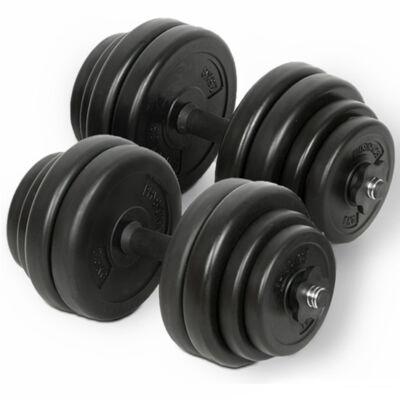 30 kg (2 x 15 kg) súlyzó készlet II.