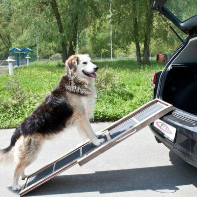 kihúzható és összetolható kutyarámpa