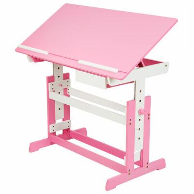 Sissy kislány íróasztal rózsaszín