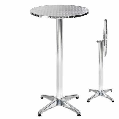 Harper Dönthető Alumínium Bárasztal, Bisztró Asztal II.
