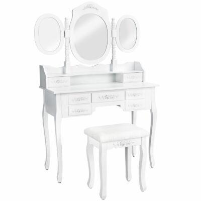 Annie fésülködő asztal fehér