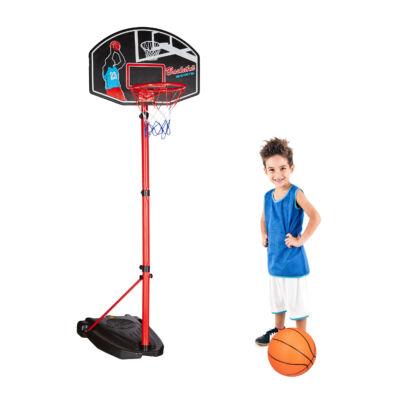 Kosárlabda Palánk 240 cm + Labda Gyerekeknek