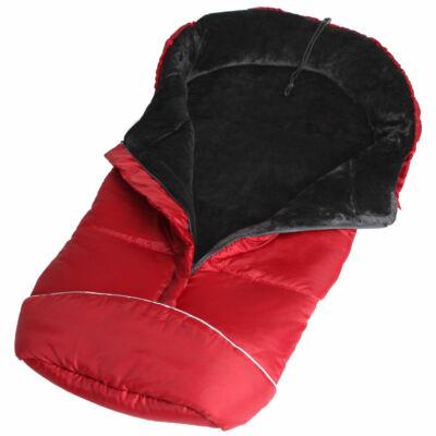 Luna Lábzsák,bundazsák piros színben
