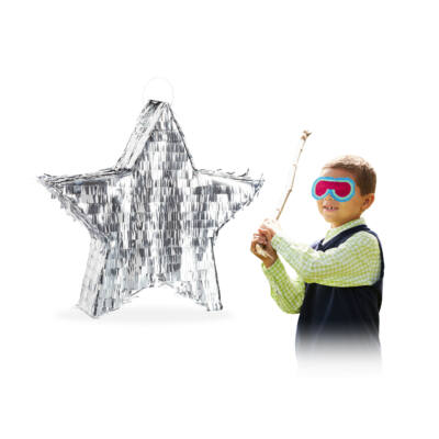 Ezüst Csillag Pinata