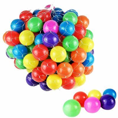 100 db színes játéklabda ömlesztve