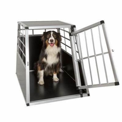 Szimpla kutyaszállító box akár nagytestű kutyáknak is