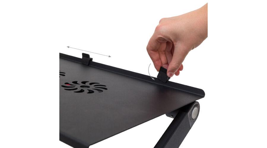 0ef5d3550b8b LAPPI Összecsukható Laptop Asztal, Hűtő Ventilátorral - Laptop Tartó ...