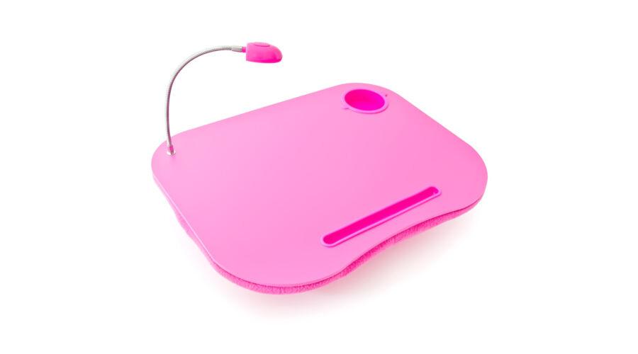 Led lámpás és kéztámaszos rózsaszín laptop és tablet tartó · Laptop Tartó  Párna Pohártartóval és Lámpával 6ac9317ab9
