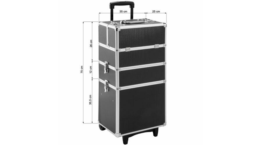 MELISSA XXL Kozmetikai Bőrönd - Kozmetikai és Utazó Bőrönd - trendotthon 7918554aa8