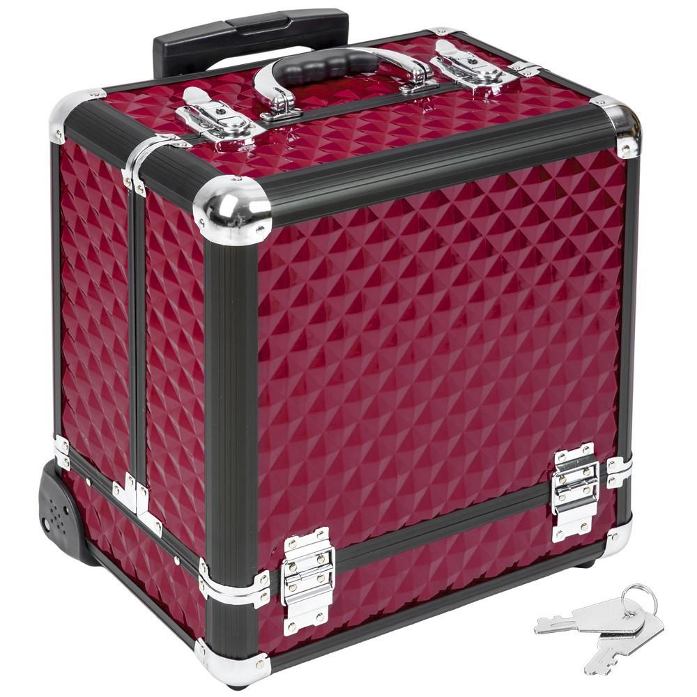 Pandora Kozmetikai bőrönd bordó - Kozmetikai és Utazó Bőrönd - trendotthon a88e9b6e36