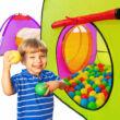 gyermek könnyen összehajtható és kinyitható játszósátor XXL