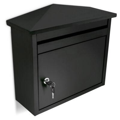 fekete postaláda csúcsos tetővel