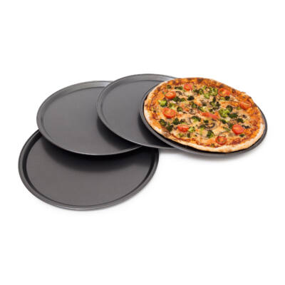 4 darabos Pizza Tálca Szett
