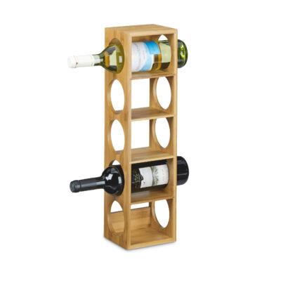 Bimo álló bortartó és palacktartó