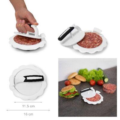 Hamburgerhús forma műanyag