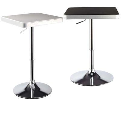 négyszögletű modern elegáns bárasztal