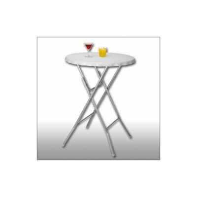 összecsukható helytakarékos műanyag asztallapos bárasztal