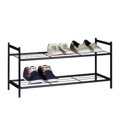 SANDRA Fém Cipőtartó 2 szintes