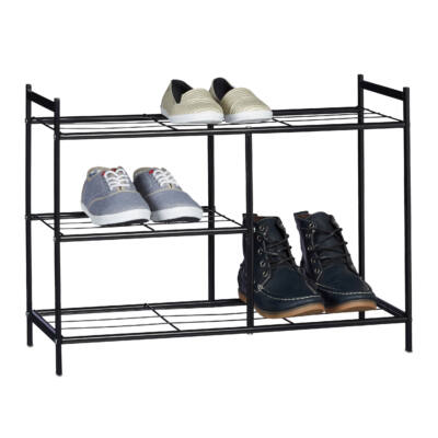 SANDRA Fém Cipőtartó 3 szintes