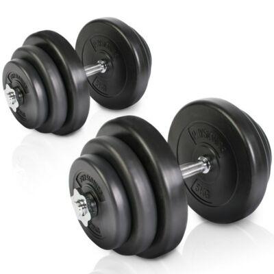 40 kg (2 x 20 kg) súlyzó szett