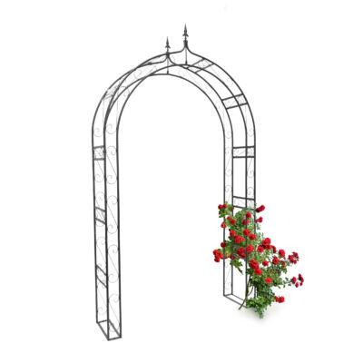 Rózsafuttató díszített kerettel