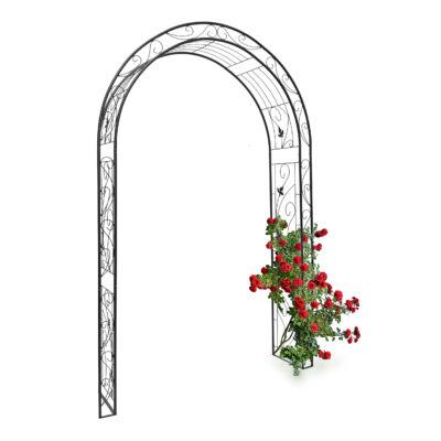 Rózsafuttató keret gyönyörű díszítésel XXL kivitelben