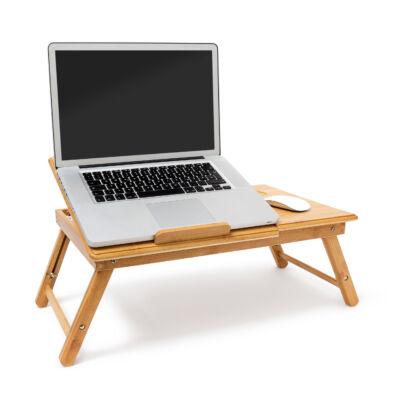 KIHO Bambusz Laptop Asztal