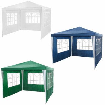 3 x 3 méteres rendezvénysátor és partisátor három színben