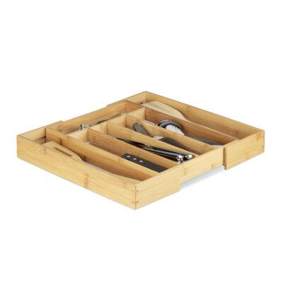 MIDORI Bambusz Evőeszköztartó Állítható 25,5 - 39 cm