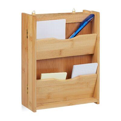 Bambusz Kulcsszekrény és Levélszekrény