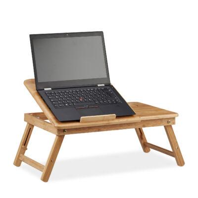 IDOMU Bambusz Laptop Asztal
