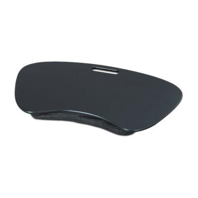 Fekete színű nagyméretű laptoptartó párna