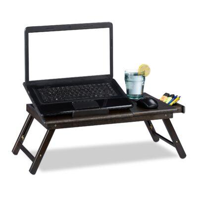 ZOTRA Bambusz Laptop Asztal