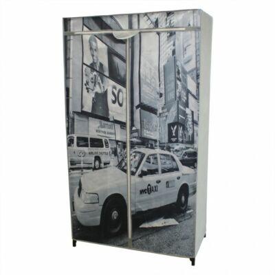 New York Mobil Gardrób és Ruhásszekrény
