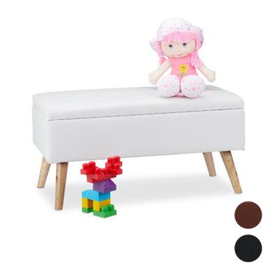 Forten belső tárolós lábakon álló ülőpad három színben
