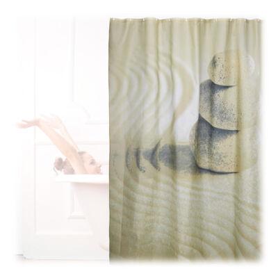 Homok mintás Zuhanyfüggöny 200 x 180 cm