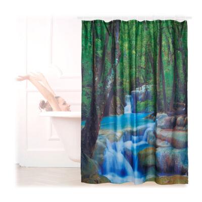 Patak mintás Zuhanyfüggöny 200 x 180 cm