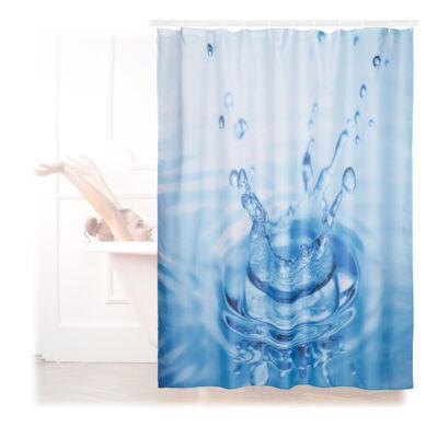 Vízcsepp mintás Zuhanyfüggöny 180 x 180 cm