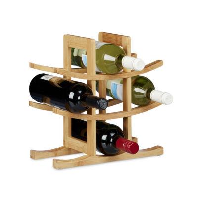 Tora bortartó állvány rekeszes kivitel
