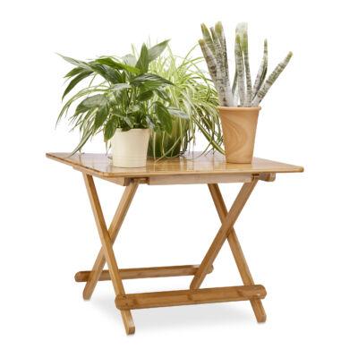 DEKO Bambusz Összecsukható Asztal