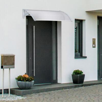 120 x 100 cm polikarbonát előtető esőfogó modern minimal stílusú ház ajtaja felett