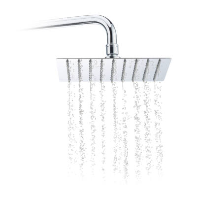 20x20 cm méretű esőztető zuhanyfej rozsdamentes kivitel