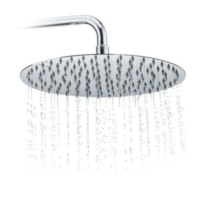 30 cm átmérőjű esőztető zuhanyfej szilikon fúvókákkal