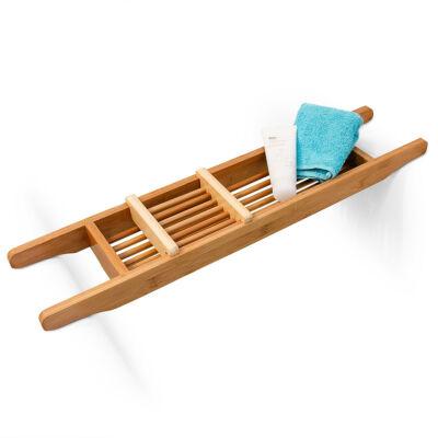 todd bambusz fürdőkád tálca