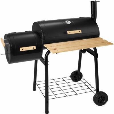 Amerikai Barbecue Grill Hordó és Füstölő