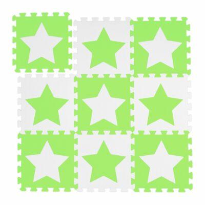 Csillag Mintás Habszivacs Puzzle Szőnyeg Gyerekeknek