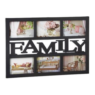 FAMILY Képkeret 6 Fotónak, 2 Színben